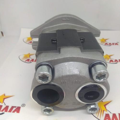 Насос гидравлический С240 двигатель, 10 шлицов, задн. подс. (CBHZG-F32-ALФL)