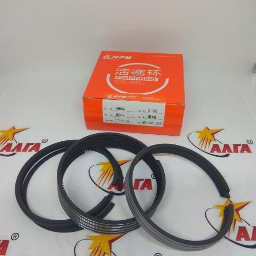 К-т поршневых колец A490 на один двигатель (490B-04002, 490B-04003, 490B-04101, 490B-04102, 490B-04103)