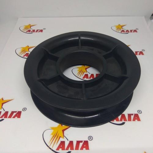 Ролик для шлангов пластик двойной (внутр.20мм, внеш. 115 мм)
