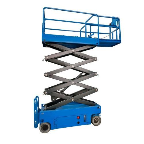PL0830 Самоходный ножничный подъемник с выдвижной платформой, рабочая высота 8м