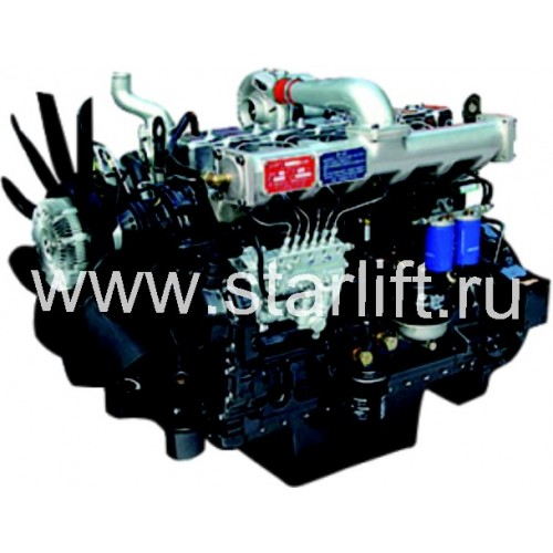 Дизельный двигатель в сборе LR4B3, 4105